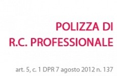 POLIZZA DI RC PROFESSIONALE